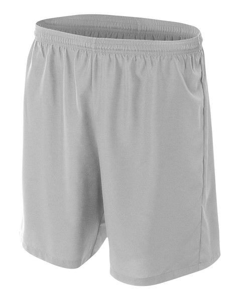 A4 NB5343 Youth Woven Soccer Short - Silver
