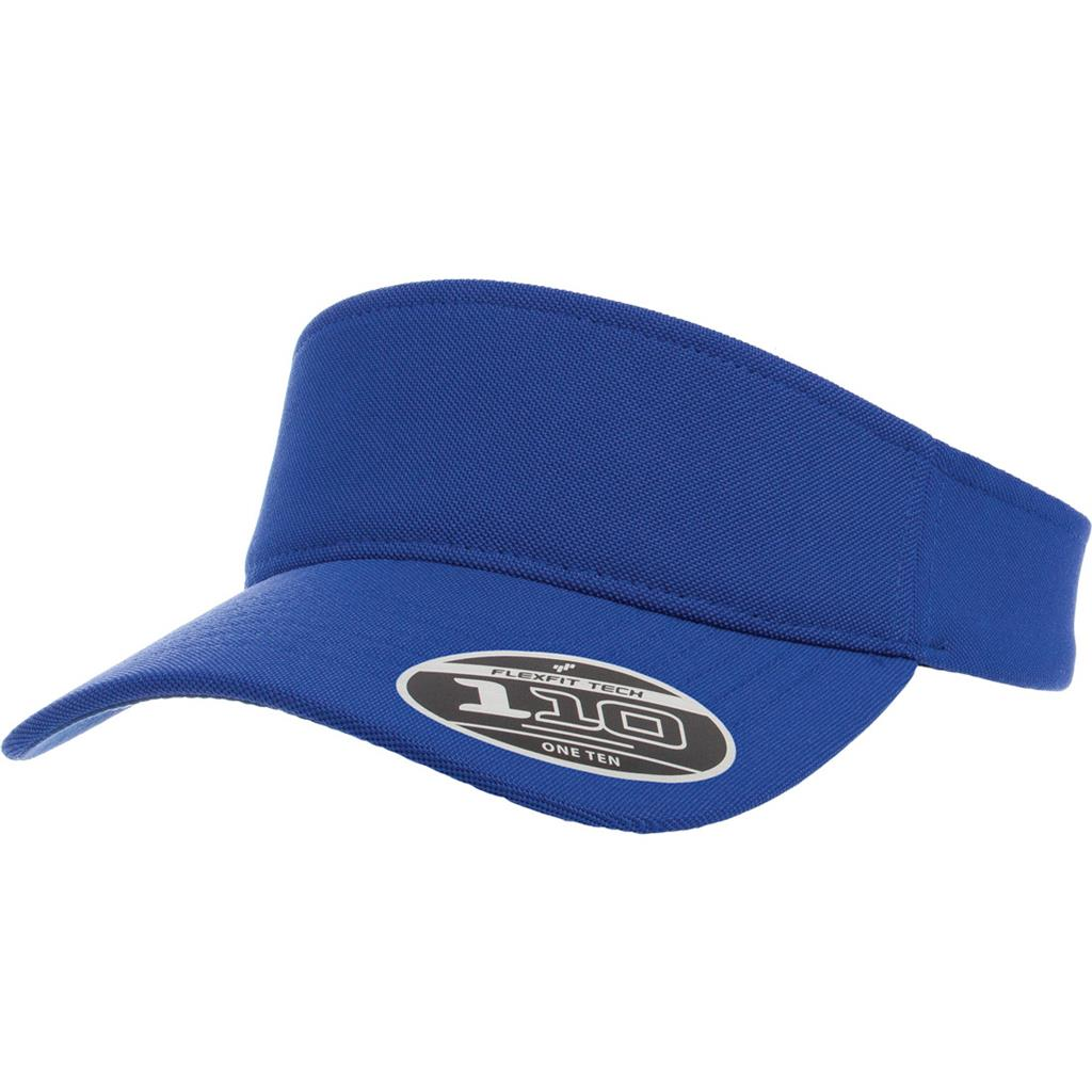 Flexfit 8110 110 Comfort Fit Visor - Royal