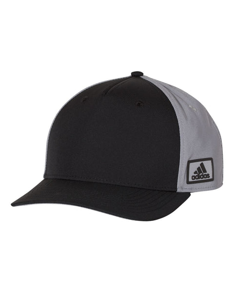 Adidas A616 Block Patch Cap - Black Grey
