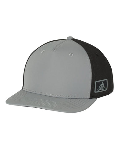 Adidas A616 Block Patch Cap - Grey Black