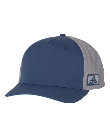 Adidas A616 Block Patch Cap - Indigo Grey