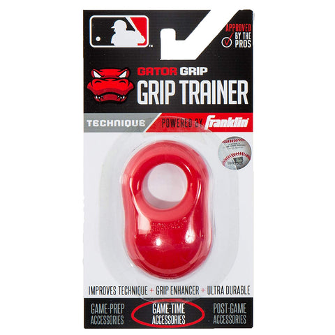 Franklin Sports MLB Gator Grip Trainer Red - Baseball Accessories, Softball Accessories - Hit A Double - 1