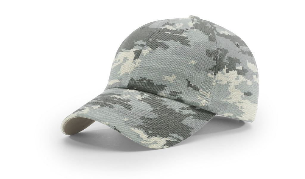 Richardson 840 Relaxed Twill Camo Cap - Digital Camo