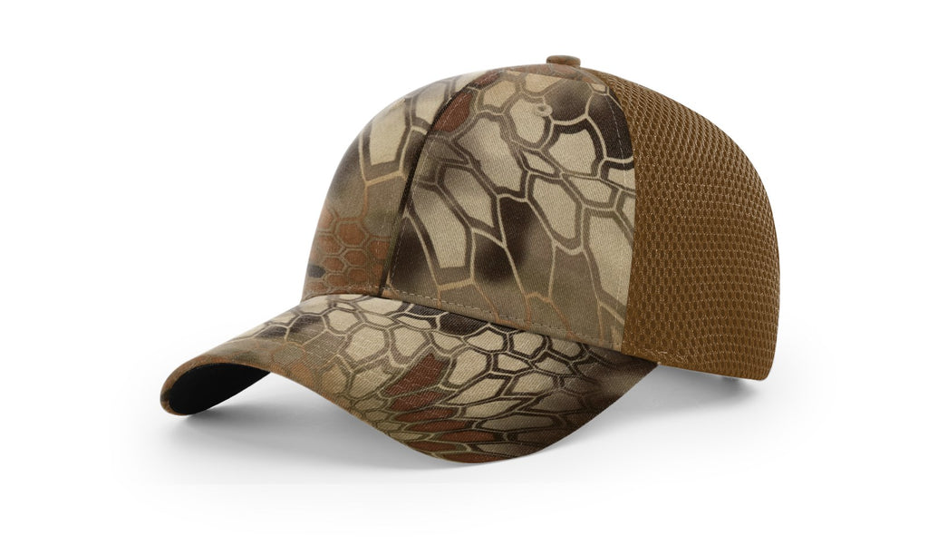 Richardson 855 Camo Airmesh R-Flex Cap - Kryptek Highlander Buck
