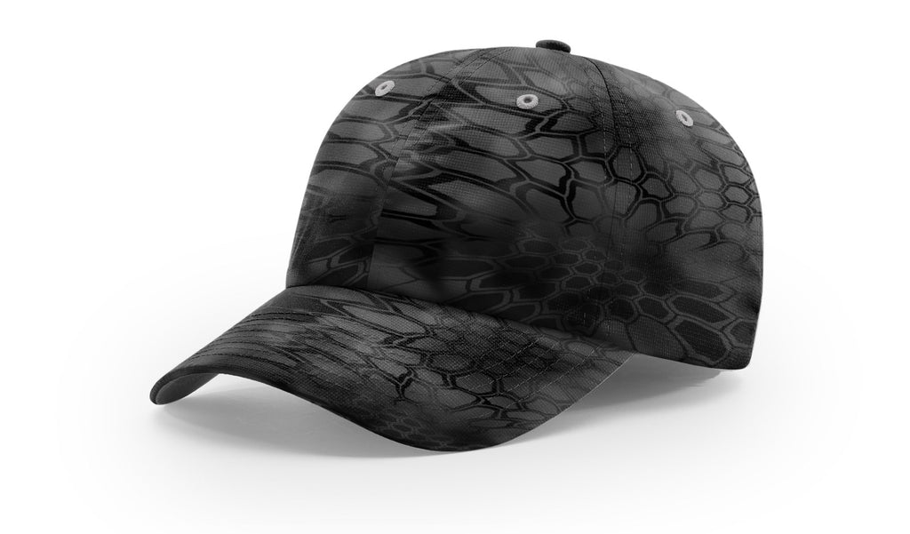 Richardson 870 Relaxed Performance Camo Cap - Kryptek Typhon