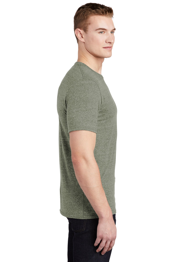 Jerzees 88M Snow Heather Jersey T-Shirt - Military Green - HIT A Double
