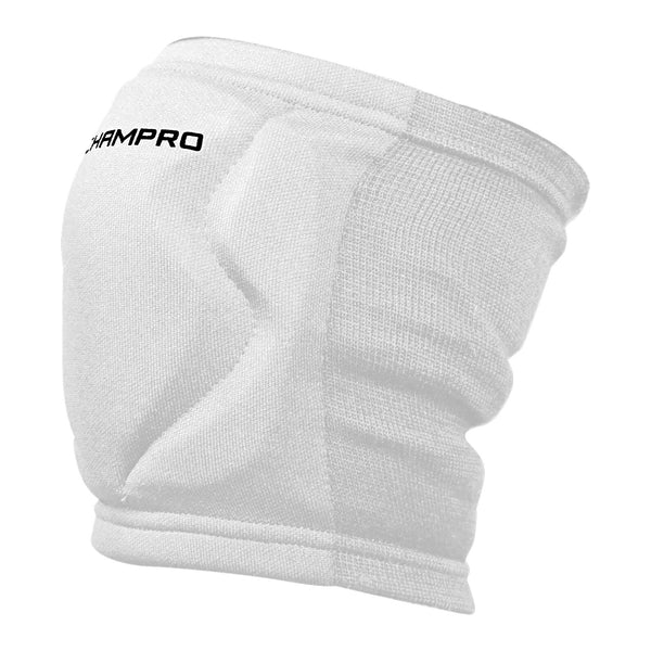 Champro A3001 MVP Low-Profile Kneepad - White