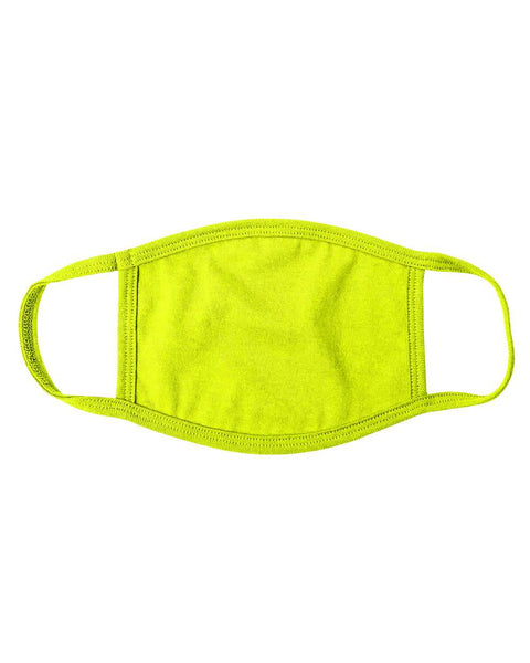 Valucap VC19 Multi-use ValuMask (pk of 3) - Neon Yellow