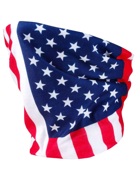 Valucap VC20 Neck Gaiter (3 pk) - USA Flag - HIT A Double