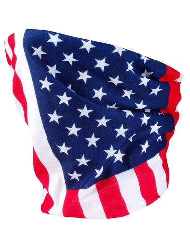 Valucap VC20 Neck Gaiter (3 pk) - USA Flag