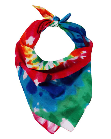 Valucap VC21 Face Bandana (pk of 3) - Rainbow Tie-Dye - HIT A Double