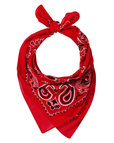 Valucap VC21 Face Bandana (pk of 3) - Red Paisley - HIT A Double