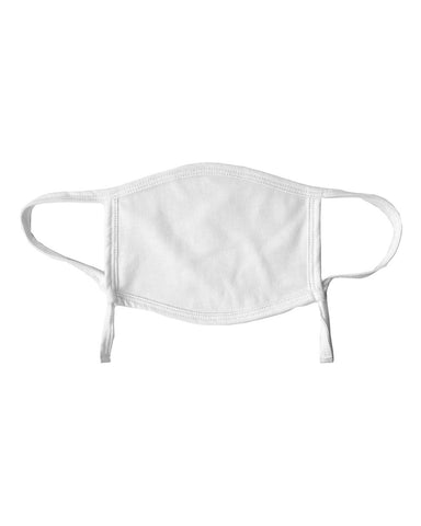 Valucap VC25Y ValuMask Youth Adjustable (pk of 3) - Heather Dark White