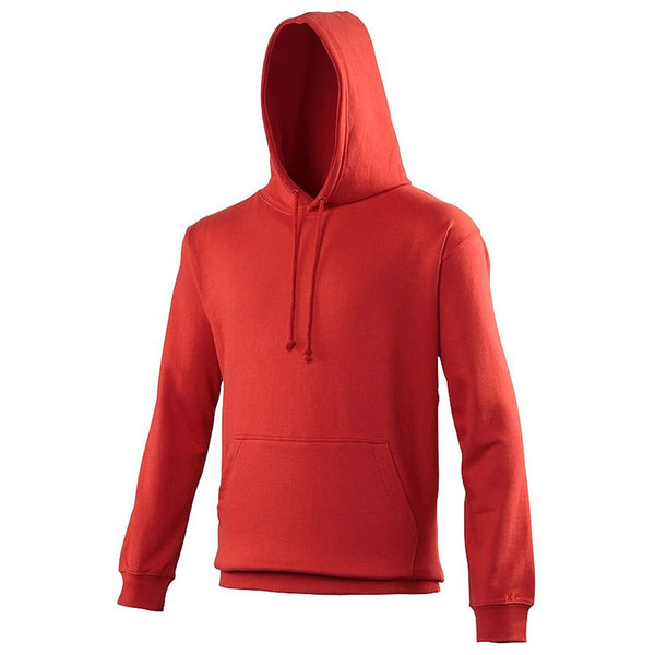Just Hoods JHA001 College Hoodie - Fire Red