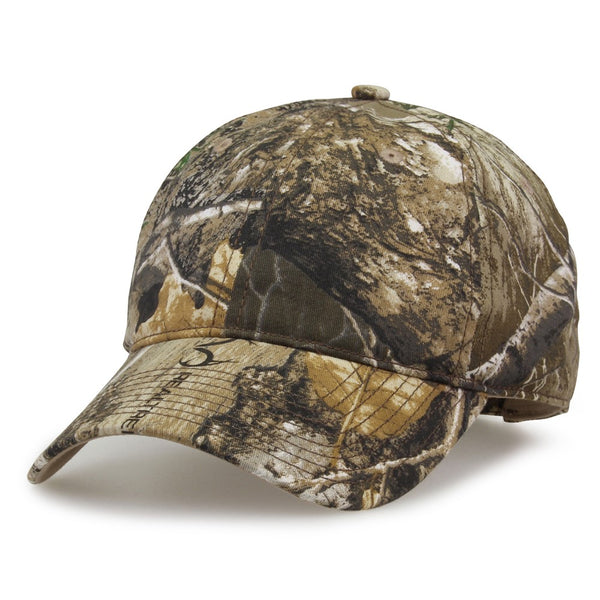The Game GB873 Camo Relaxed Cap - Realtree Edge
