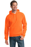Jerzees 996M Nublend Pullover Hooded Sweatshirt - Safety Orange - HIT A Double