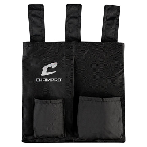 Champro A045 Umpire Ball Bag - Black