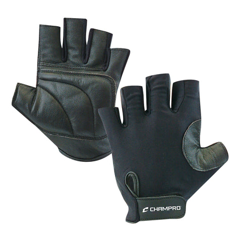 Champro A058-A058FR Padded Catcher's Glove - Left Hand Throw - Black