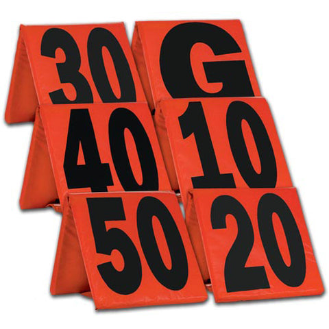Champro A102WXL Weighted Football Yard Markers - HIT A Double