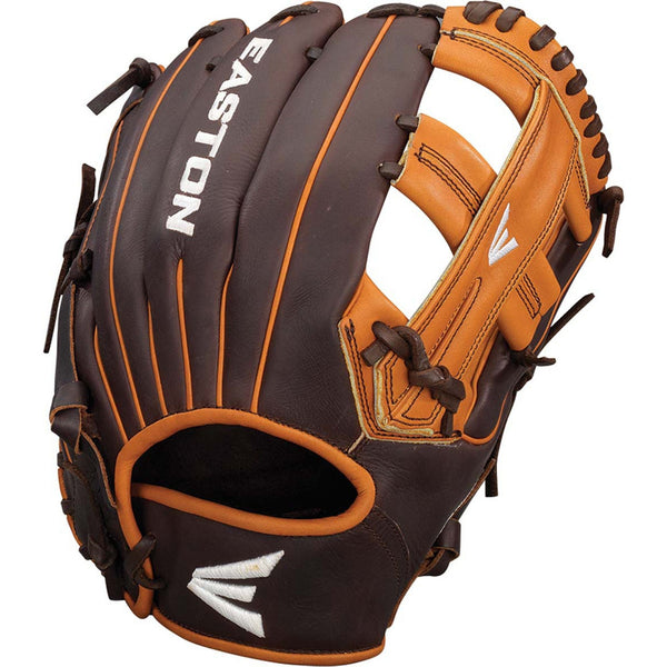 "Easton Core Pro 11.75"" Single Post Web Infield Glove - Brown Tan - Baseball Gloves - Hit A Double - 1"