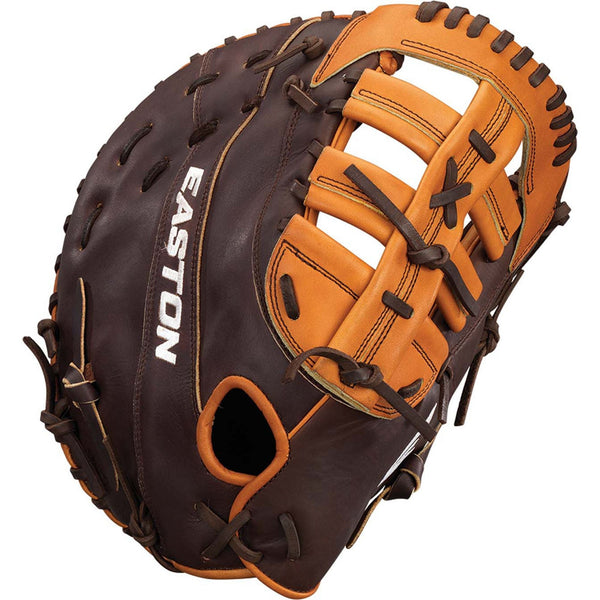 "Easton Core Pro 12.75"" Baseball Firstbase Mitt - Brown Tan - Baseball Gloves - Hit A Double - 1"