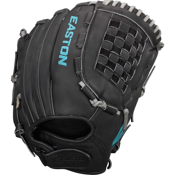 "Easton Core Pro 12.50"" Fastpitch Pitcher Outfield Glove - Black - Softball Gloves - Hit A Double - 1"