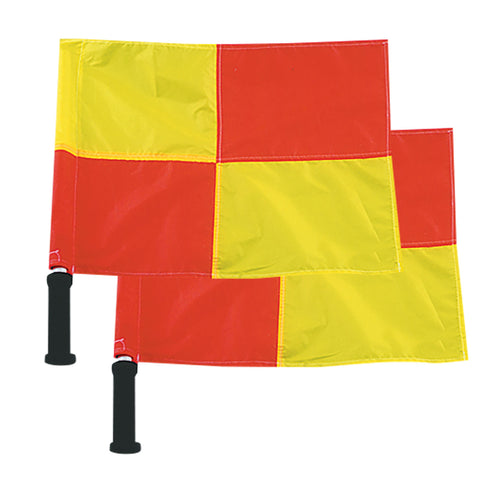 Champro A192 Linesman Flags with Foam Grips Set of 2