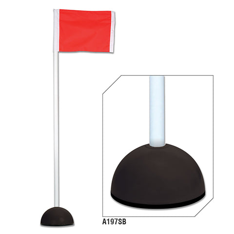 Champro A193SB-A197SB Corner Flags with Sand Bases - HIT A Double