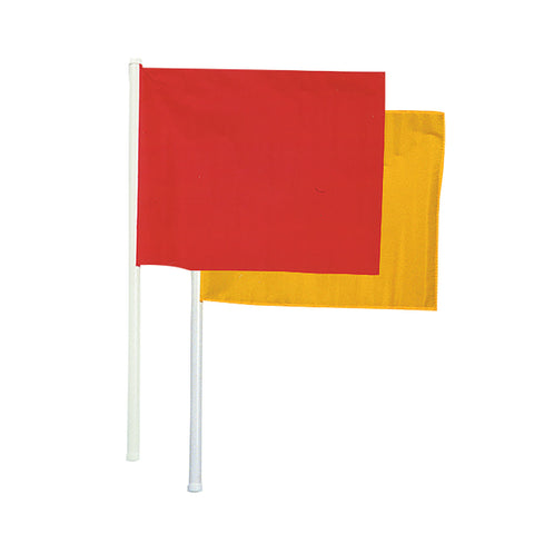 Champro A194 Lineman's Flags Red & Yellow Set of 2 - HIT A Double