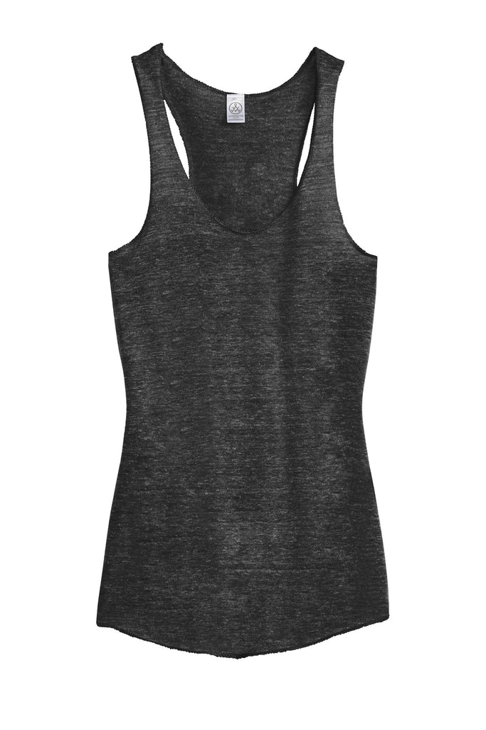 Alternative AA1927 Discontinued Women's Meegs Eco-Jersey Racer Tank - Eco Black - HIT A Double