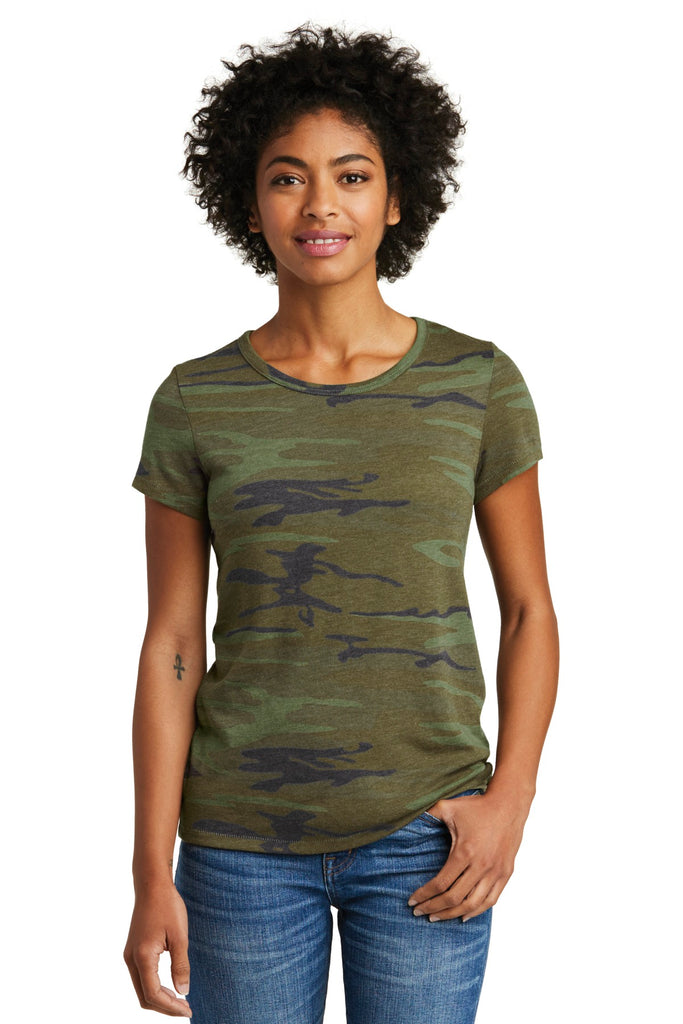 Alternative AA1940 Women's Eco-Jersey Ideal - Camo - HIT A Double