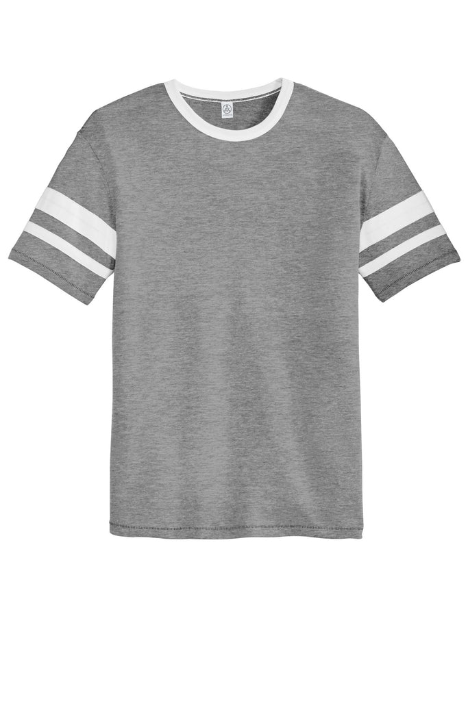 Alternative AA5055 Sideline Vintage 50/50 Tee - Smoke White - HIT A Double