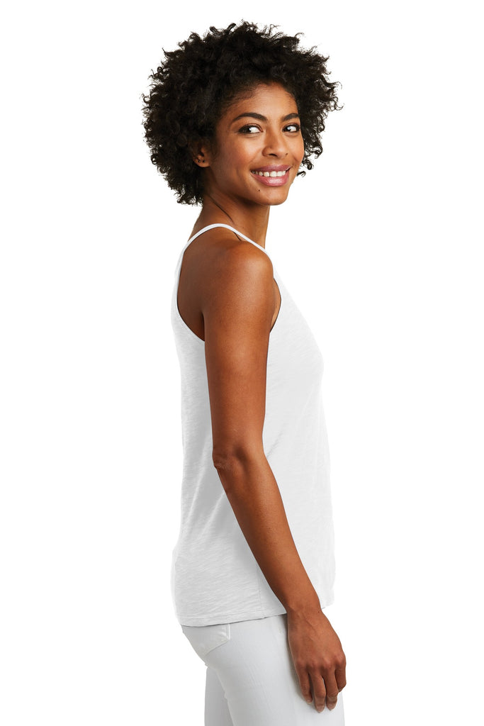 Alternative AA6096 Women's Weathered Slub Sporty Tank - White - HIT A Double
