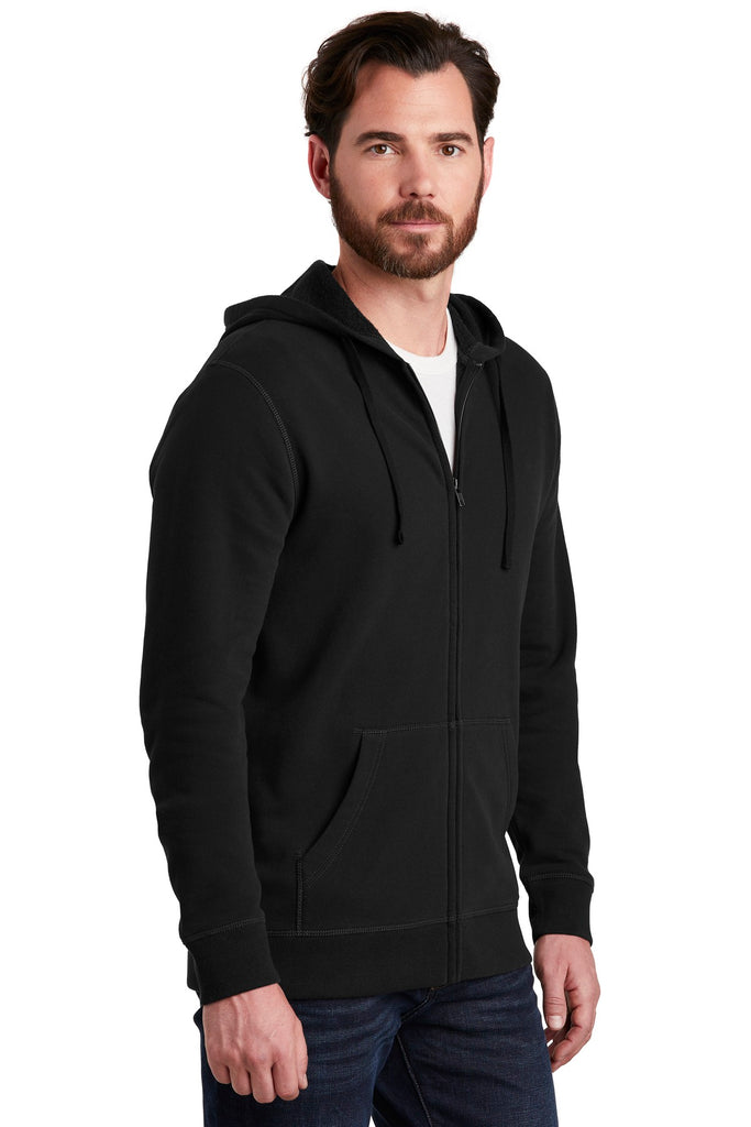Alternative AA8050 Indy Blended Fleece Zip Hoodie - Black - HIT A Double