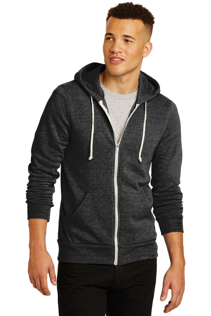 Alternative AA9590 Rocky Eco-Fleece Zip Hoodie - Eco Black