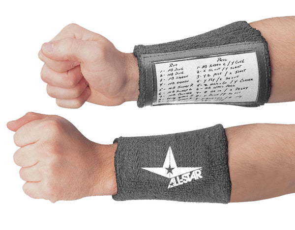 All-Star Playmaker Wrist Band ASWBQB - Black - HIT A Double