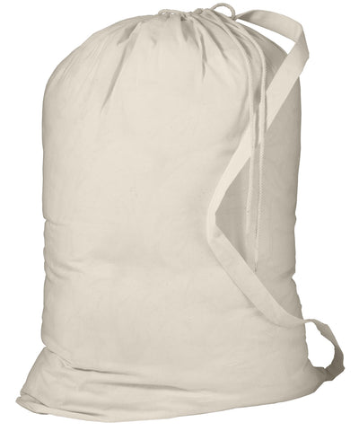 Port Authority B085 Laundry Bag - Natural - HIT A Double