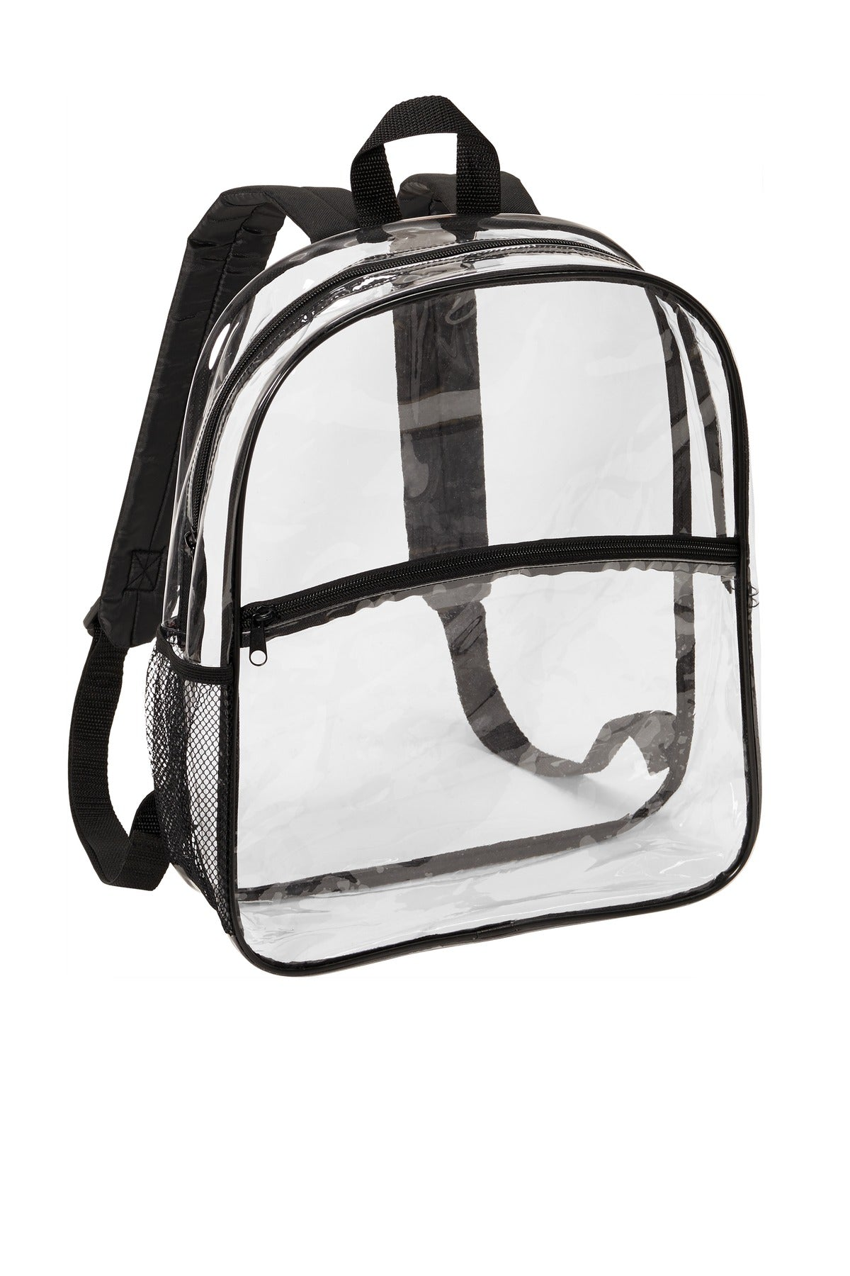 Port Authority BG230 Clear Backpack - Clear Black - HIT A Double