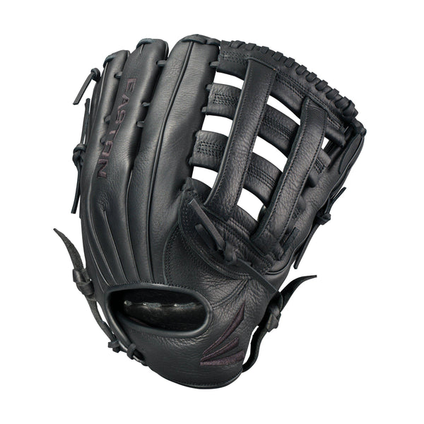 "Easton Blackstone 14.00"" Softball Utility Glove - Black - HIT A Double"
