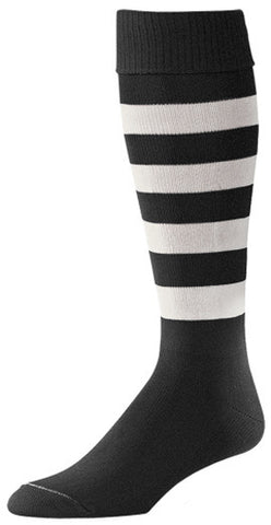 Pro Feet 331-330 Bumblebee Soccer - Black White - Soccer - Hit A Double