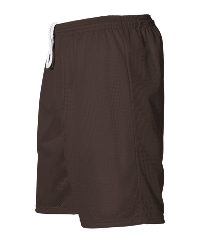Alleson 566PY Youth Extreme Mesh Unisex Short - Brown - HIT A Double