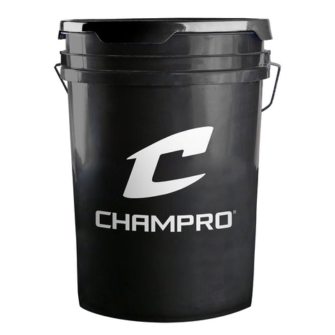 Champro BUCKET-B 6-Gallon Ball Bucket - ea - HIT A Double