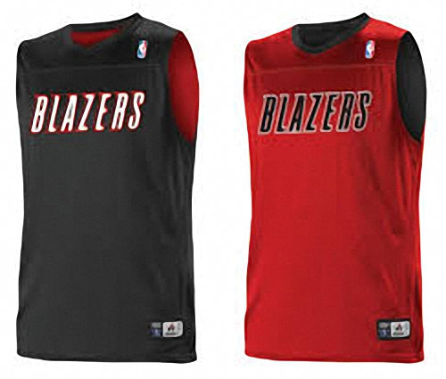 Alleson A105LY Youth NBA Logo Reversible Jersey - Portland Trailblazers