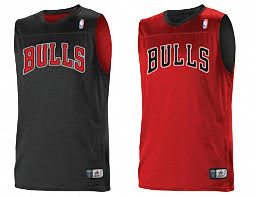 Alleson A105LY Youth NBA Logo Reversible Jersey - Chicago Bulls