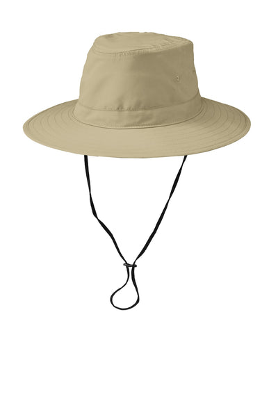 Port Authority C921 Lifestyle Brim Hat - Stone - HIT A Double