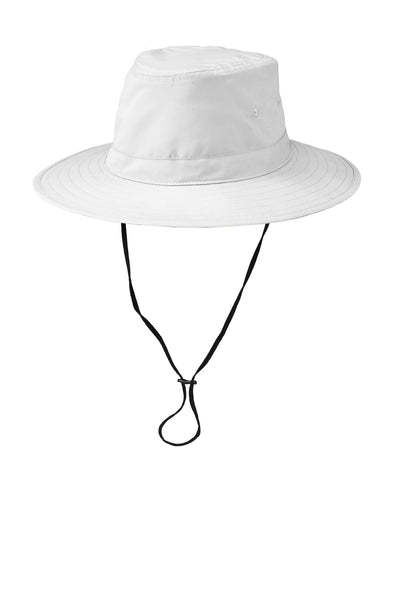 Port Authority C921 Lifestyle Brim Hat - White - HIT A Double