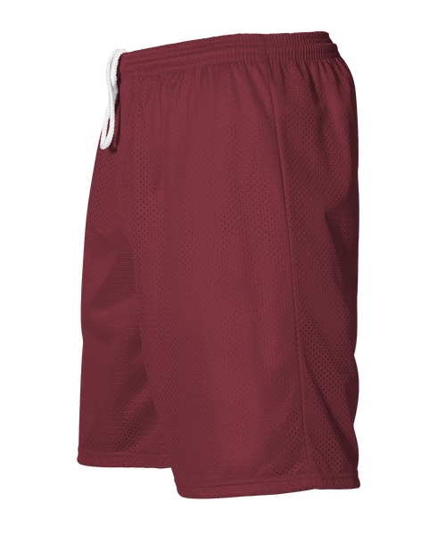 Alleson 566PY Youth Extreme Mesh Unisex Short - Cardinal - HIT A Double