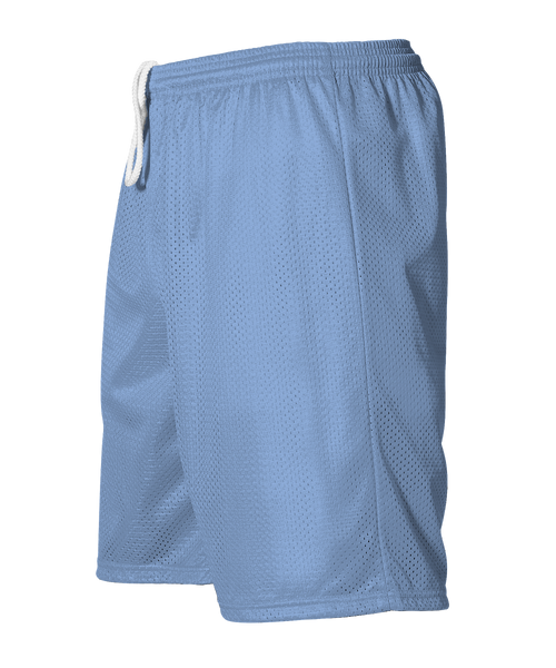 Alleson 566PY Youth Extreme Mesh Unisex Short - Carolina Blue - HIT A Double