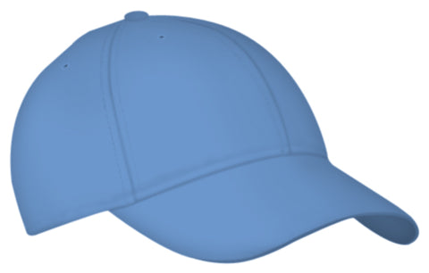 Alleson 3CCTY Youth Six Panel Baseball Cap - Carolina Blue