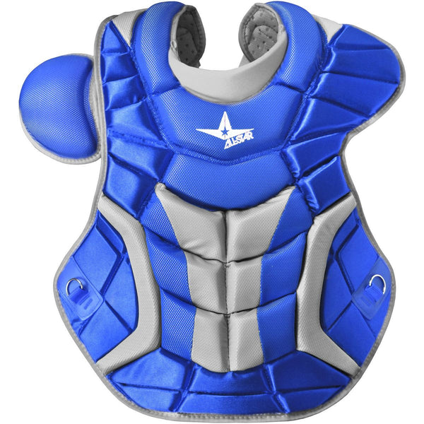 "All-Star Adult System 7 16.5"" Pro Chest Protector - Royal - Catcher"